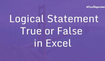 Logical Statement - True or False - Example