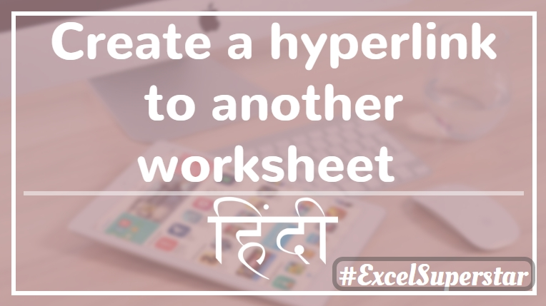 Hyperlink in Excel