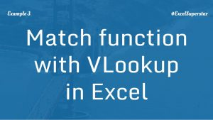 Match-function-with-vlookup-3-in-excel