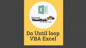 Do until loop VBA Excel