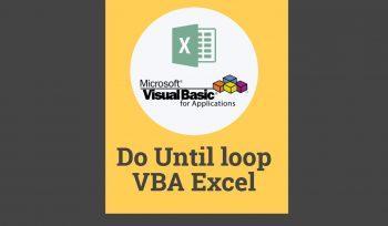 Do until loop VBA Excel