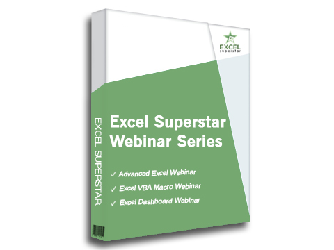 Excel Superstar Webinar Series - Advanced Excel