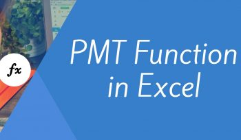 PMT Function in Excel