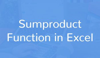 Sumproduct - Function in Excel
