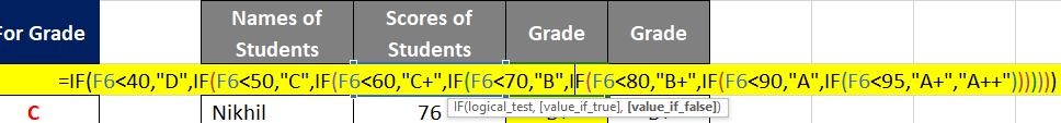 If Formula